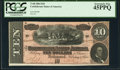 Confederate Notes:1864 Issues, T68 $10 1864 PF-31 Cr. 549 PCGS Extremely Fine 45PPQ.. ...