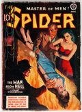 Pulps:Hero, The Spider - April 1940 (Popular) Condition: GD/VG....