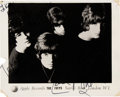 Music Memorabilia:Autographs and Signed Items, The Iveys/Badfinger Signed and Inscribed Apple Records Promo Photo....