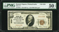 National Bank Notes:Pennsylvania, Kennett Square, PA - $10 1929 Ty. 1 National Bank & Trust Company Ch. # 2526 PMG About Uncirculated 50 EPQ.. ...