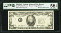 Error Notes:Missing Third Printing, Missing Third Printing Error Fr. 2075-A $20 1985 Federal Reserve Note. PMG Choice About Unc 58 EPQ.. ...