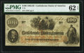 Confederate Notes:1862 Issues, T41 $100 1862 PF-11 Cr. 319A PMG Uncirculated 62 EPQ.. ...