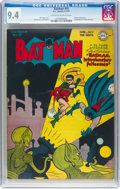 Golden Age (1938-1955):Superhero, Batman #41 (DC, 1947) CGC NM 9.4 Off-white to white pages....