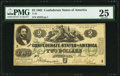 Confederate Notes:1862 Issues, T43 $2 1862 PF-1 Cr. 338 PMG Very Fine 25.. ...