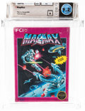 Video Games:Nintendo, MagMax - Wata 9.2 A Sealed [Rev-A, Round SOQ, Early Production], NES FCI 1988 USA....