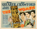 """Movie Posters:Comedy, The Women (MGM, 1939). Fine- on Paper. Half Sheet (22"""" X 28"""").. ..."""