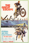 "Movie Posters:War, The Great Escape (United Artists, R-1970s). Very Fine on Linen. International Concept One Sheet (26.75"" X 39.5""). Frank McCa..."