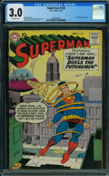Silver Age (1956-1969):Superhero, Superman #128 (DC, 1959) CGC GD/VG 3.0 Off-white pages.