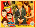 "Movie Posters:Comedy, Animal Crackers (Paramount, 1930). Very Fine. Lobby Card (11"" X 14"").. ..."
