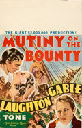 "Movie Posters:Academy Award Winners, Mutiny on the Bounty (MGM, 1935). Very Fine. Window Card (14"" X 22"").. ..."