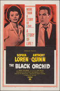 "Movie Posters:Romance, The Black Orchid & Other Lot (Paramount, 1959). Folded, Fine/Very Fine. One Sheets (2) (27"" X 41""). Romance.. ... (Total: 2 Items)"