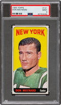 Football Cards:Singles (1960-1969), 1965 Topps Don Maynard #121 PSA Mint 9 - Pop Five, None Higher. ...