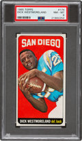 Football Cards:Singles (1960-1969), 1965 Topps Dick Westmoreland #174 PSA NM-MT 8....