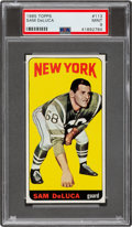 Football Cards:Singles (1960-1969), 1965 Topps Sam Deluca #113 PSA Mint 9 - Pop Five, None Higher. ...