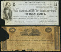 Obsoletes By State:Virginia, Charlestown, VA- Charlestown Manufacturing & Exporting Co. Raised $10 Sep. 27, 1816 J-L BC25-UNL Good-Very Good; . Ch... (Total: 2 notes)