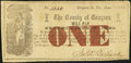 Obsoletes By State:Virginia, (Independence), VA- County of Grayson $1 June__, 1862 J-L CG05-20 Fine.. ...