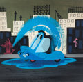 Animation Art:Concept Art, Mary Blair Susie the Little Blue Coupe Concept Painting (Walt Disney, 1952)....
