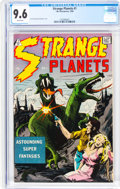 Silver Age (1956-1969):Science Fiction, Strange Planets #1 (I.W., 1958) CGC NM+ 9.6 White pages....