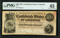 Confederate Notes:1864 Issues, T64 $500 1864 PF-2 Cr. 489 PMG Choice Extremely Fine 45.. ...