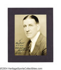 Boxing Collectibles:Autographs, James J. Corbett Signed Photograph A bold inscribed ink ...
