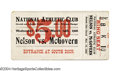 Boxing Collectibles:Memorabilia, Battling Nelson - Terry McGovern 1906 Full Unused Ticket ...