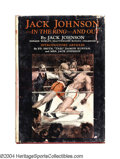Boxing Collectibles:Autographs, Jack Johnson 1927 Autographed First Edition Book Former ...