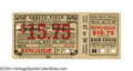 Boxing Collectibles:Memorabilia, Mickey Walker - Jack Sharkey 1931 Full Official Ticket ...