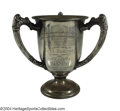 Boxing Collectibles:Memorabilia, Jack Dempsey 1924 Sterling Silver Loving Cup Jack Dempsey ...