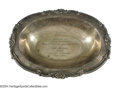 """Boxing Collectibles:Memorabilia, Jack Dempsey """"Sack Of Shelby"""" Sterling Silver Bowl Jack ..."""