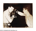 Boxing Collectibles:Autographs, Joe Louis & Billy Conn Signed Photograph A great ...