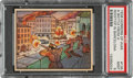 """Non-Sport Cards:Singles (Pre-1950), 1938 Horrors Of War """"A Battle From A Rooftop In Barcelona"""" #135 PSA Mint 9 - Pop Three, None Higher. ..."""