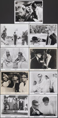 """Movie Posters:Foreign, 8½ (Embassy, 1963). Very Fine. Photos (9) (8"""" X 10""""). Foreign.. ... (Total: 9 Items)"""
