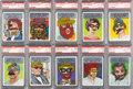 """Non-Sport Cards:Sets, 1967 Topps """"Who Am I?"""" PSA NM-MT 8 Graded Complete Set (44). ..."""