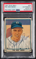 Baseball Cards:Singles (1940-1949), 1941 Play Ball Pee Wee Reese #54 PSA/DNA Mint 9....