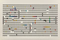 Prints & Multiples, Yaacov Agam (b. 1928). Untitled, late 20th century. Screenprint in colors on card. 25-5/8 x 38-3/4 inches (65.1 x 98.4 c...