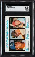 Baseball Cards:Singles (1970-Now), 1973 Topps Rookie 3rd Basemen #615 SGC EX/NM 6....