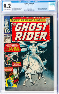 The Ghost Rider #1 (Marvel, 1967) CGC NM- 9.2 Off-white to white pages