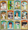 Baseball Cards:Sets, 1972 Topps Baseball Mid to High Grade Near Set (784/787). ...
