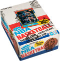 Basketball Cards:Unopened Packs/Display Boxes, 1986-87 Fleer Basketball Wax Box with 36 Unopened Packs. ...