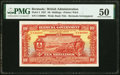 Bermuda Bermuda Government 10 Shillings 30.9.1927 Pick 4 PMG About Uncirculated 50