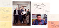 Movie/TV Memorabilia:Autographs and Signed Items, Seinfeld Cast Autograph Collection (Seven). ...