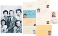 Movie/TV Memorabilia:Autographs and Signed Items, Father Knows Best Cast Autograph Collection (Nine). ...