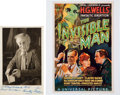 Movie/TV Memorabilia:Autographs and Signed Items, Dudley Digges Signed Vintage Photo. ...