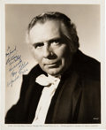 Movie/TV Memorabilia:Autographs and Signed Items, Ray Collins Signed Original Still from Can't Help Singing (1944). ...