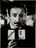 Movie/TV Memorabilia:Autographs and Signed Items, Peter Sellers Signed Photo as Inspector Clouseau from The Pink Panther Films. ...