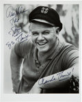 Movie/TV Memorabilia:Autographs and Signed Items, [Gilligan's Island] Alan Hale Signed Photo as the Skipper. ...