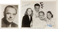 Movie/TV Memorabilia:Autographs and Signed Items, [Dr. Kildare Films] Original Still from The Secret of Dr. Kildare (1939) Signed by Lionel Barrymore, L...