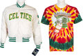 Music Memorabilia:Costumes, Grateful Dead-Related Basketball Clothing (early 1990s).... (Total: 2 Items)