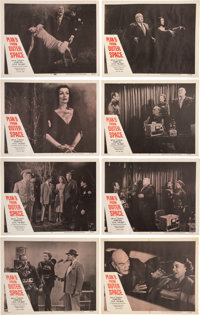 Plan 9 From Outer Space Set of Eight Original 1959 Lobby Cards (8)