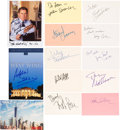 Movie/TV Memorabilia:Autographs and Signed Items, West Wing Cast Autograph Collection (Thirteen). ...